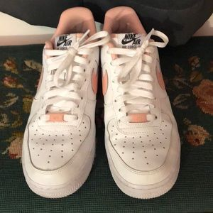 Nike Air Force 1 Custom Leather Sneakers